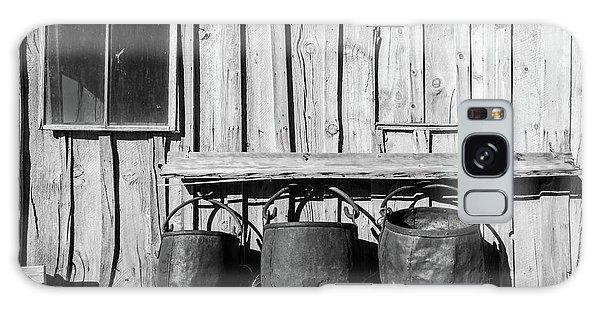 Three Old Buckets Galaxy Case by Marius Sipa