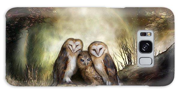 Three Owl Moon Galaxy Case