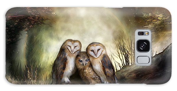 Three Owl Moon Galaxy Case