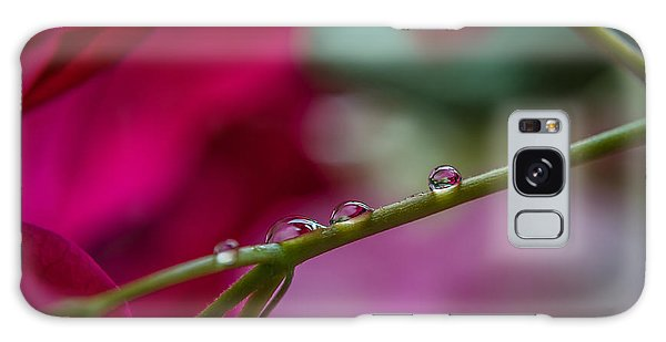 Three Reflecting Drops Galaxy Case by Michelle Meenawong