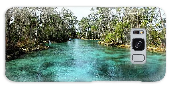 Three Sisters Springs Long View Galaxy Case
