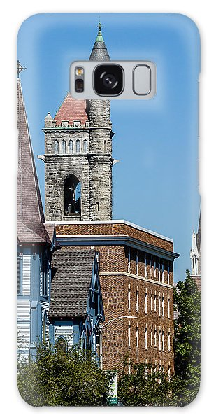 Three Steeples Of St Johnsbury Vermont Galaxy Case by Tim Kirchoff