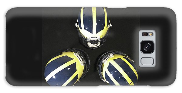 Three Striped Wolverine Helmets Galaxy Case