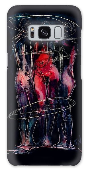 Three Together Galaxy Case by Jim Vance