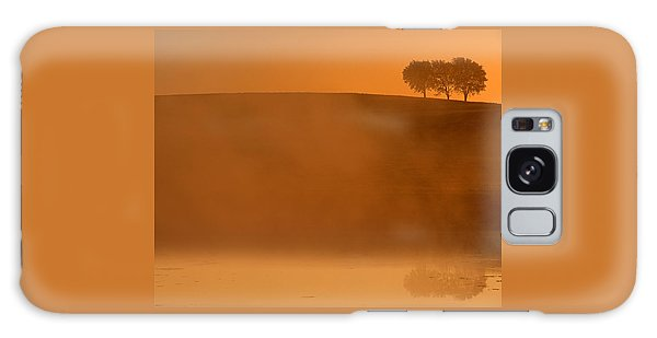 Three Trees  Galaxy Case by Don Spenner