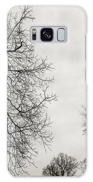 Limb Galaxy Case - Three Trees by Linda Woods
