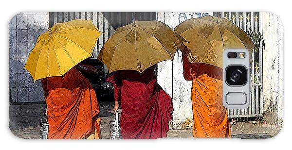 Three Umbrellas Galaxy Case