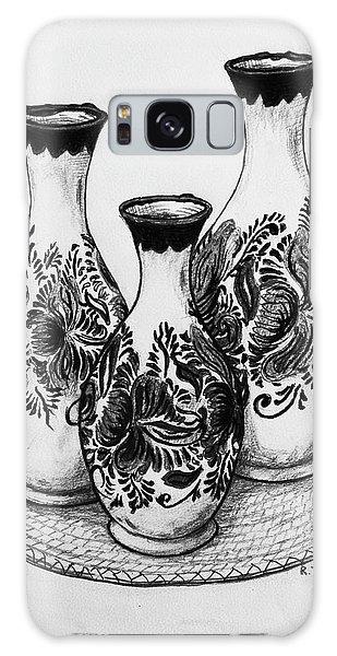 Galaxy Case - Three Vases by Rich Travis