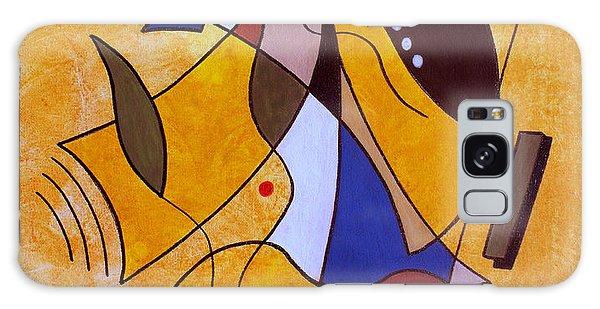 Three White Petals Galaxy S8 Case