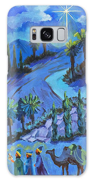 Bethlehem Galaxy Case - Three Wise Men And The Star by Diane McClary