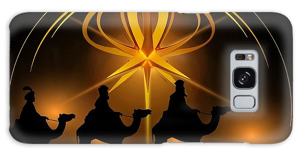 Three Wise Men Christmas Card Galaxy Case