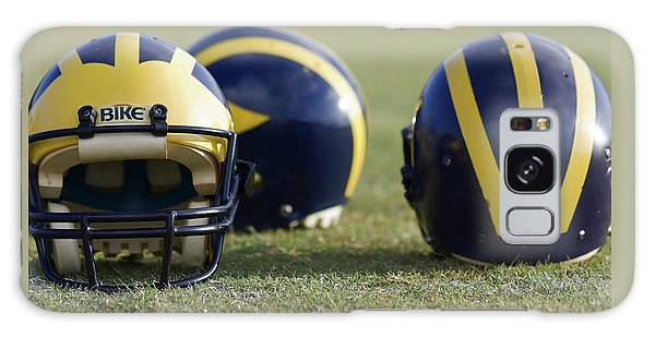 Three Wolverine Helmets Galaxy Case