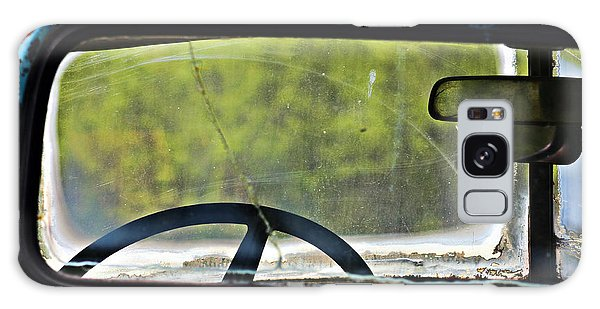 Through The Back Window- Antique Chevrolet Truck- Fine Art Galaxy Case