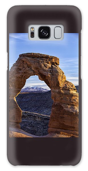 Through The Delicate Arch Galaxy Case