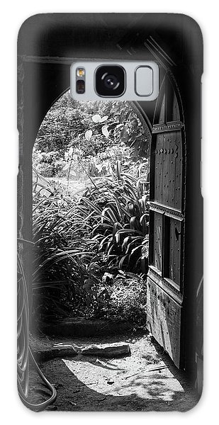 Galaxy Case featuring the photograph Through The Door by Clare Bambers
