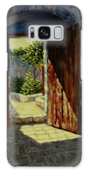 Through The Door, Peru Impression Galaxy Case