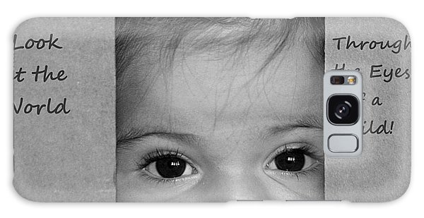 Through The Eyes Of A Child Galaxy Case