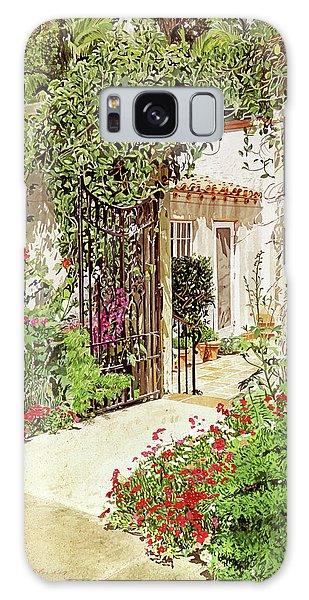 Through The Garden Gate Galaxy Case