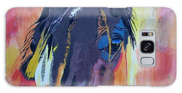 Through The Horse's Eyes Galaxy Case