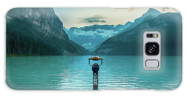 Moraine Lake Galaxy Case - Through The Looking Glass by Paul Quinn