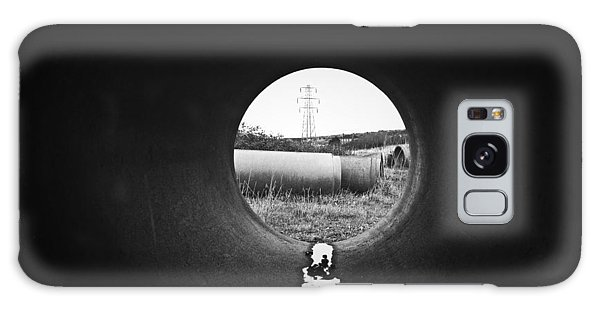 Through The Pipe Galaxy Case by Keith Elliott