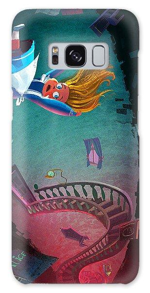 Fairy Galaxy S8 Case - Through The Rabbit Hole by Kristina Vardazaryan