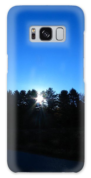 Through The Trees Brightly Galaxy Case