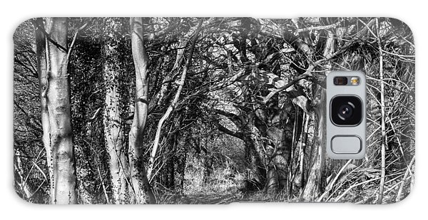 Through The Tunnel Bw 16x20 Galaxy Case