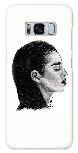 Galaxy Case - Lauren Jauregui Drawing By Sofia Furniel by Jul V