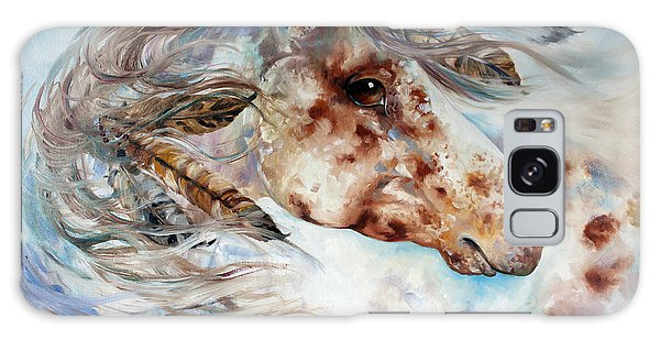 Thunder Appaloosa Indian War Horse Galaxy Case