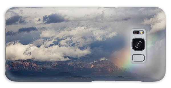Thunder Mountain Rainbow From Jerome Galaxy Case