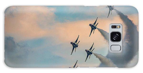 Galaxy Case featuring the photograph Thunderbirds by Rick Berk