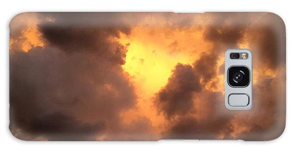Thunderous Sunset Galaxy Case