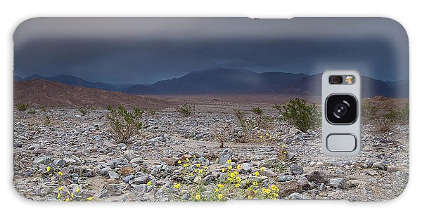 Thunderstorm Over Death Valley National Park Galaxy Case