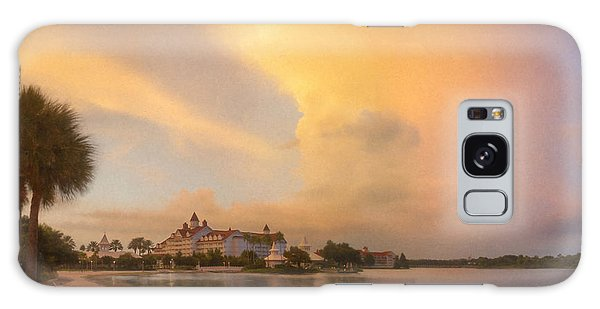 Thunderstorm Over Disney Grand Floridian Resort Galaxy Case