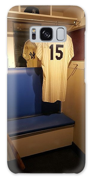 Galaxy Case - New York Yankee Captian Thurman Munson 15 Locker by Rob Hans