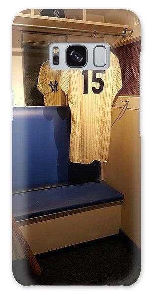 New York Yankee Captian Thurman Munson 15 Locker Galaxy Case