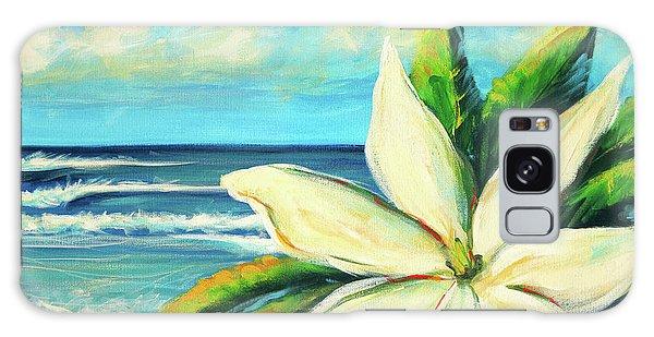 Gardenia Galaxy Case - Tiare by Hanako Hawaii