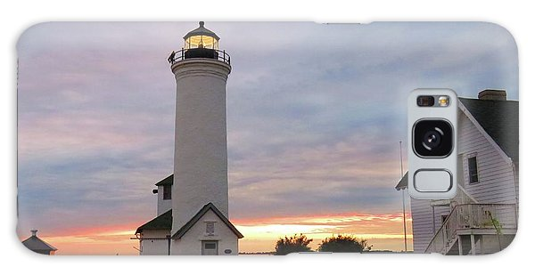Tibbetts Point Lighthouse, July Sunset Galaxy Case