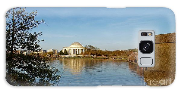 Tidal Basin And Jefferson Memorial Galaxy Case