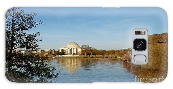Galaxy Case - Tidal Basin And Jefferson Memorial by Megan Cohen