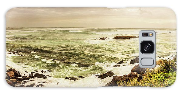 Seashore Galaxy Case - Tidal Vastness by Jorgo Photography - Wall Art Gallery