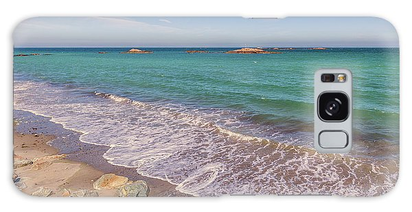 Tide Change At Minot Beach In Scituate Massachusetts Galaxy Case