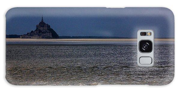 Tide In Mont Saint-michel Bay Galaxy Case