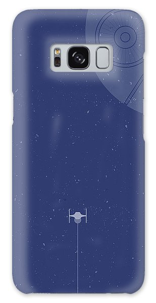 Fighter Galaxy Case - Tie Fighter Defends The Death Star by Samuel Whitton