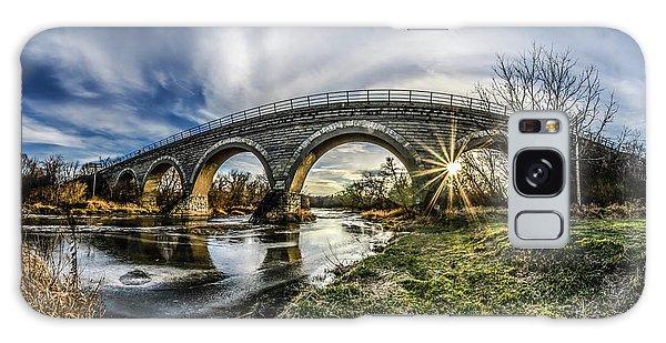 Tiffany Bridge Panorama Galaxy Case