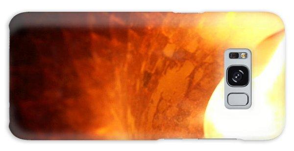 Tiffany Lamp Inside Galaxy Case