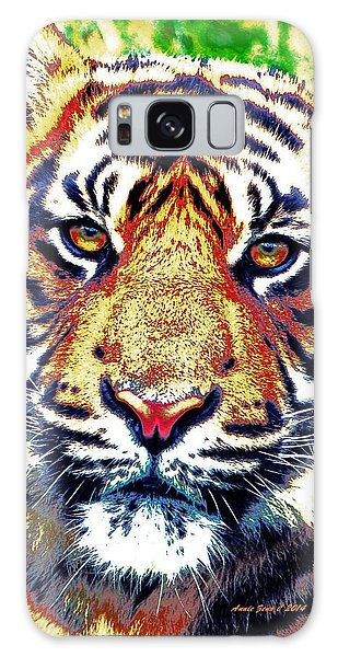 Tiger Art Galaxy Case