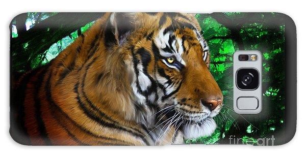 Tiger Contemplation Galaxy Case