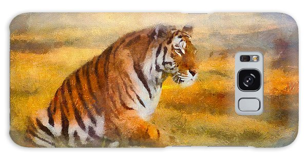 Tiger Dreams Galaxy Case
